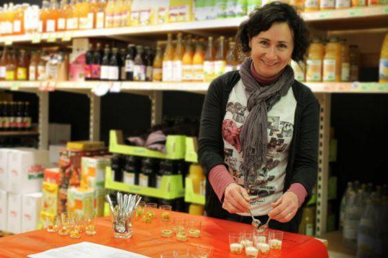 Chrystèle Poisson, diététicienne et animatrice cuisine à Scarabée