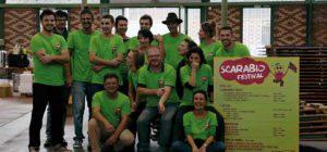 Equipe Scarabée fin Scarabio Festival 2015