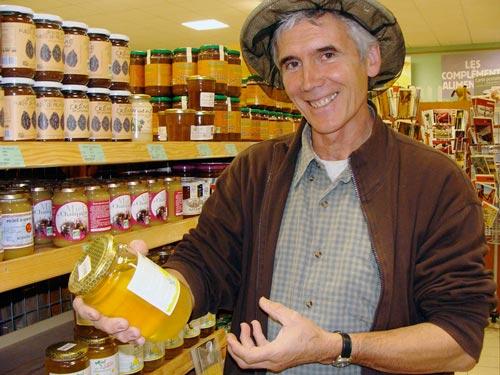 Patrick Pérès, apiculteur
