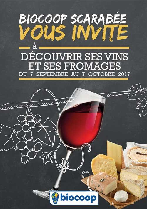 Fête des vins et des fromages à Scarabée