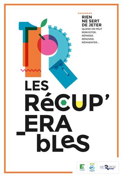 Affiche Les récupérables Rennes Métropole