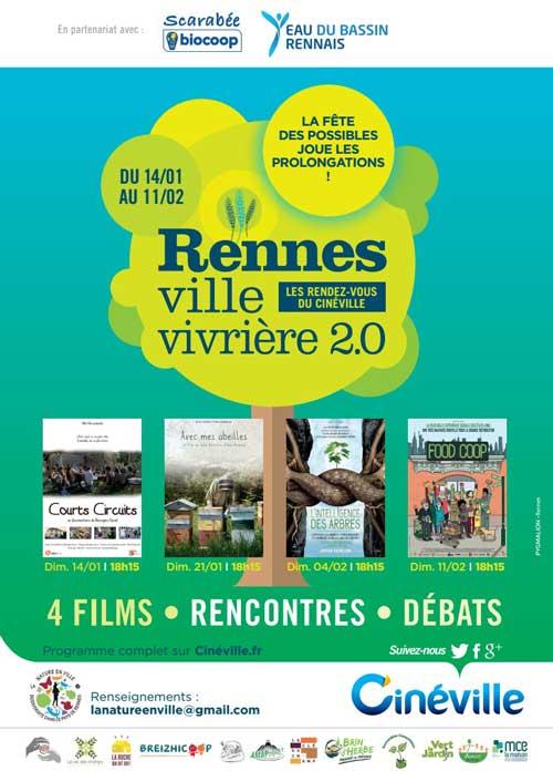 Affiche Rennes Ville vivrière 2018