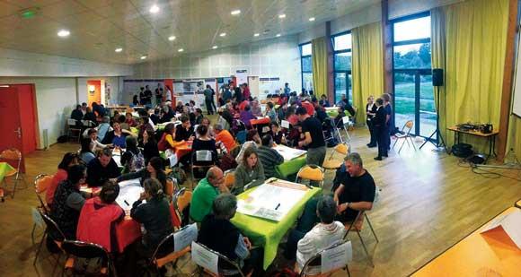 ateliers participatifs assemblée générale 2015 Scarabée Biocoop