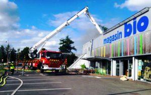 incendie Scarabée Biocoop Cesson