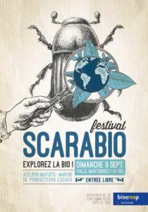 L'affiche du Scarabio Festival 2018 Explorez la bio.