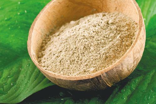 Argile utilisé dans les cosmétiques naturels et bio.
