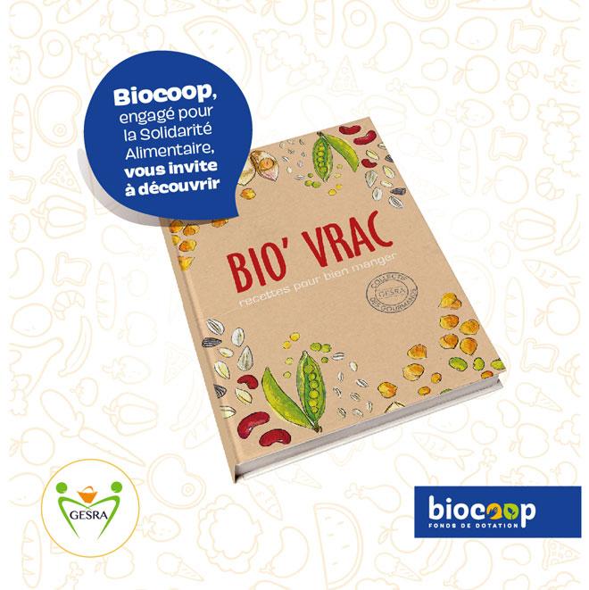 Des livres de recettes Bio'Vrac à gagner en magasins