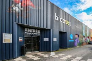 entrée magasin biocoop Scarabée Cleunay