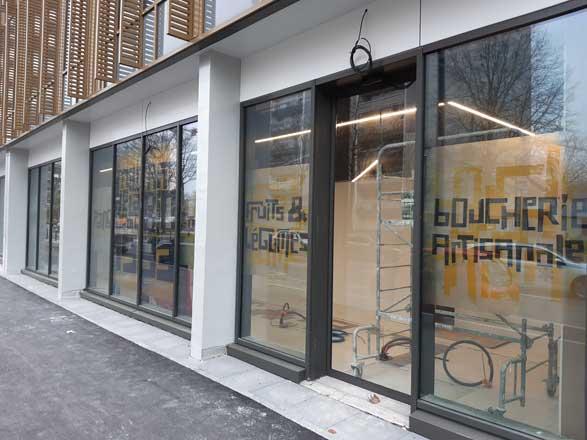 façade magasin Biocoop Scarabée Le Triangle