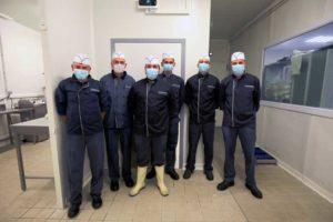 équipe charcutiers pique-prune labo rennes